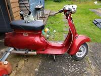 Triumph t-10 scooter 1966