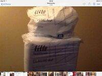 LILLE BED SHEETS 60x90cms