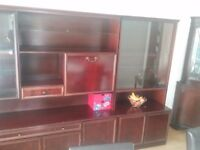 Welsh dresser display and storage unit 2 pieces excellent condition