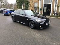 2005 bmw 535d m sport twin turbo diesel carbon black unmolstered example £4795 ovno
