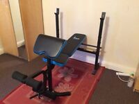 MULTIGYM FOLDING BENCH, USED ONCE NEW CONDITION, ALREADY DISMANTLED & READY TO LOAD IN ANY CAR.