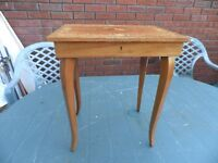 VINTAGE MUSICAL SEWING TABLE
