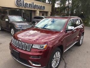 2017 Jeep Grand Cherokee BRAND NEW, SUMMIT, SIGNATURE LEATHER