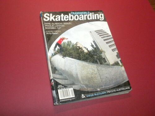 TRANSWORLD SKATEBOARDING magazine 2001 January SKATEBOARD