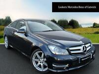 Mercedes-Benz C Class C180 BLUEEFFICIENCY AMG SPORT (blue) 2013-09-21