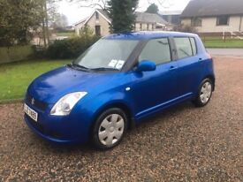 2007 SUZUKI SWIFT 1.3 GL - LOW INSURANCE - 5 DOOR -