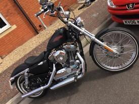 Harley Davidson XL1200V sportster 72 2014 abs