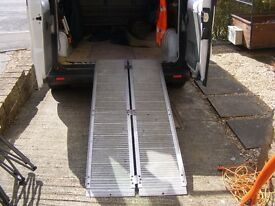Wheel chair/loading ramps good working order