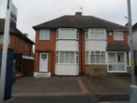 2/3 BEDROOM SEMI DETACHED TO LET, GREAT BARR, NEWLY DECORATED, UNFURNISHED