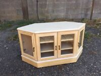 Tv stand with storage excellent condition