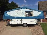 Pennine Sterling Folding Camper Trailer Tent 2005 Model + Awning + Struts To Aid Lifting The Beds