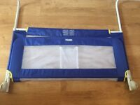 Tomy blue toddler bed guard