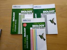 Cfe Higher Biology study books