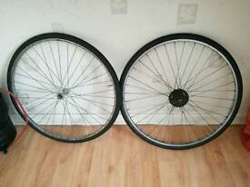BIKE WHEELS! CHEAP AS CHIPS!