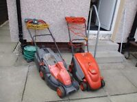 FLYMO POWER COMPACT 330 AND FLYMO PAC A MOW (BOTH NEED BRUSHES)