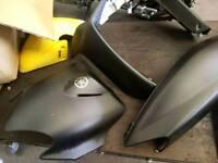 Yamaha jog scooter panels, carbon wrapped
