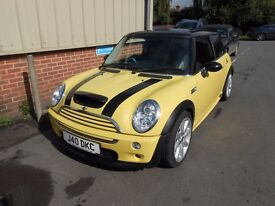 2004 54 MINI COOPER S GTT 1.6 3DR A/C LEATHER NEW MOT PAS JUST BEEN SERVICED GREAT CONDITON