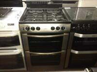 Belling silver 60cm gas cooker