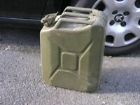 20 Litre Military Fuel Can Heavy Duty metal Weymouth