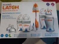 Munchkin latch newborn starter baby bottle kit