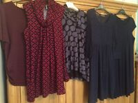Maternity dresses and tops