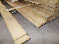 Shiplap Boards 4.8m long only £1.00 per m