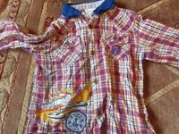 Boys Long sleeved shirts & tops age 3-4 years