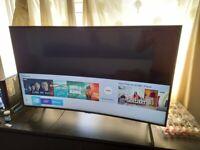 Samsung 49inch curved UHD smart tv