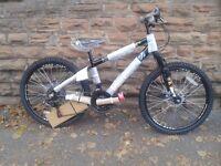 New Falcon Nitro Boys 24in Alloy Hard Tail Disc Brakes Mountain Bike - RRP £209