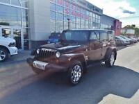 2014 Jeep Wrangler Unlimited SAHARA, PLAN D'OR
