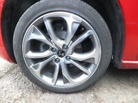 "2013 CITROEN DS4 18"" ALLOY WHEEL AND TYRE 225/45/18 5MM OF TREAD"
