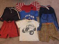 18-24 month summer bundle (1 1/2-2 yrs) boy summer clothes