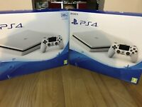 Playstation PS4 Slim - Glacier White Brand New sealed Full warranty + possible extras GAMES PAD