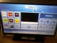 Toshiba 32 inch HD LED Smart TV with WiFi 32W3453DB