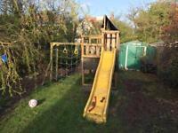 Kids climbing frame