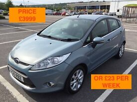 2010 FORD FIESTA ZETEC / NEW MOT / PX WELCOME / CARDS TAKEN / SERVICE HISTORY / FINANCE / WE DELIVER