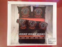 Versace Bedding Set King Size Orange