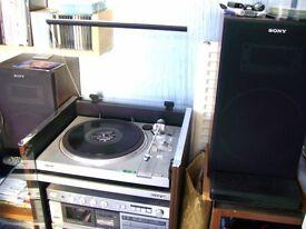 Sony Full size Audio Rack System