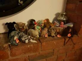 Beanie babies bundle, originals, all with tags