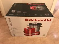 KitchenAid Artisan Cook Processor BNIB- Almond Cream RRP £869!~BRAND NEW