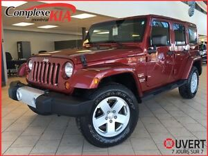 2012 Jeep WRANGLER UNLIMITED Sahara 4X4 DEM.DIST CRUISE CONTROL