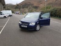 Vw touran 1.9tdi 95k for swap only for another diesel as don't need 7 seats thanks