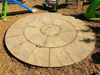 Indian Sandstone Garden Feature 2.4m