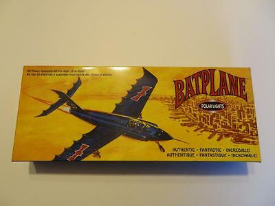 Batman Bat Plane BatPlane Polar Lights Assembly Model Kit Authentic NEW