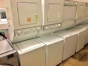 Whirlpool 24 Wide Heavy Duty Stacked Washer and Dryer, Free 30 Day Warranty, Save The Tax Event