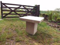 Arthur Llewellyn Jenkins Stone Coffee Table