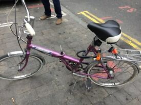 Foldable bike Raleigh
