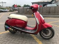 Vespa type 125cc scooter moped 2014 4t new mot