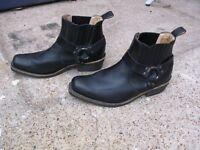 Mens Boots Grinder Bike/Cowboy Boots Size 9