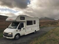 Motorhome For Hire In Essex - Available For Holidays
